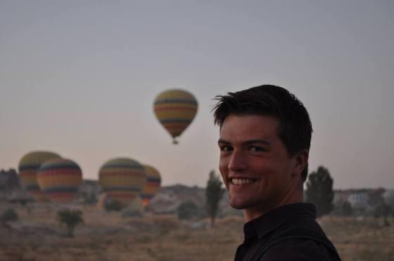 Ballooning in Cappadocia
