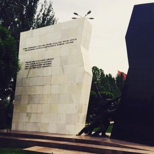 Monument to the victims of the 2010 Revolution
