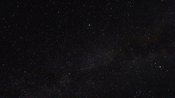 The night sky in the Alay is unbelievable.