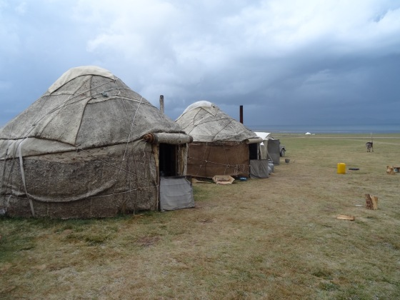 Our humble felt yurts